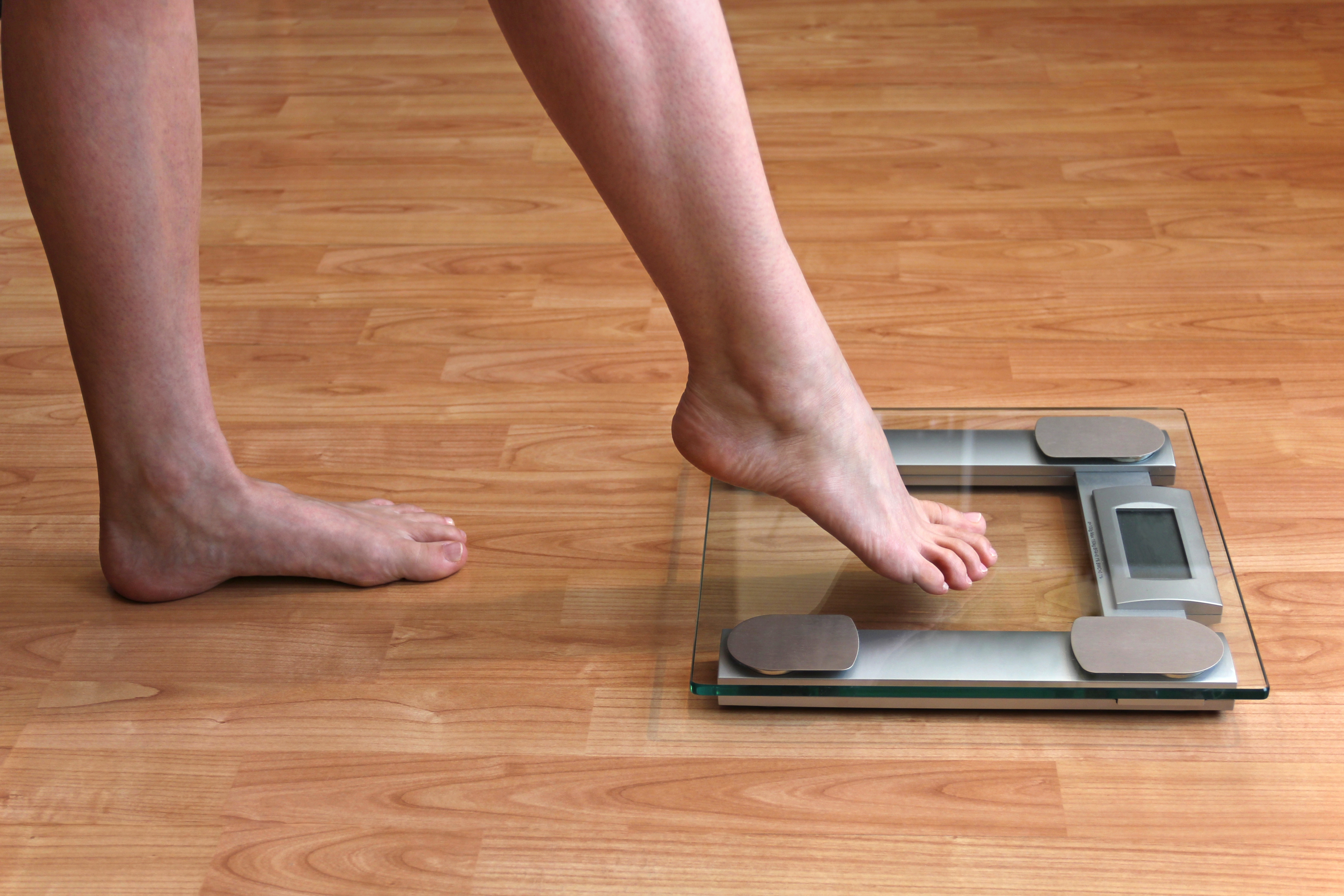 Stepping on the scales