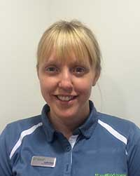 Catherine Hext, Physio at The Vale and Cardiff Bay Hospitals