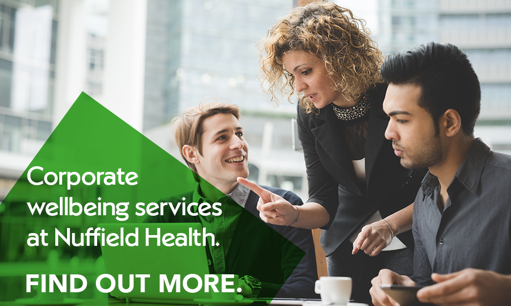 Nuffield Health corporate wellbeing services