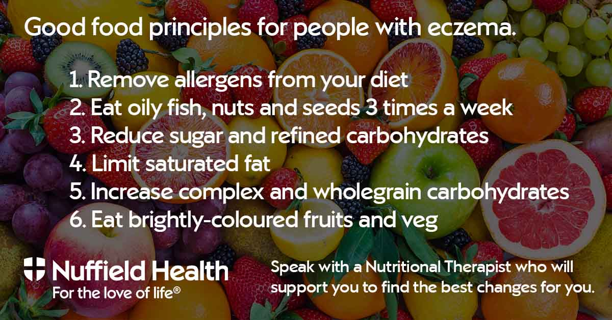 Eczema good food principles