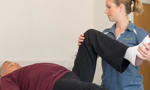Physiotherapy and other services
