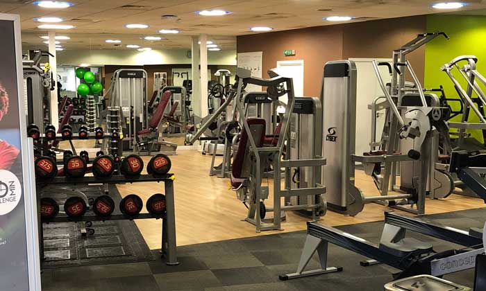 Invesco Gym weights area