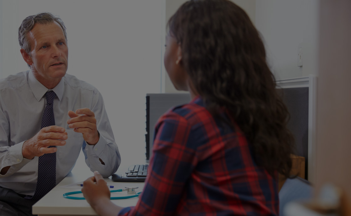 Consultation between doctor and patient